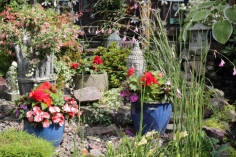 One of the gardens on the Kirkcudbright Arts and Crafts trail 2018